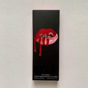 KYLIE Cosmetics Velvet Lip Kit in Jordy NWT